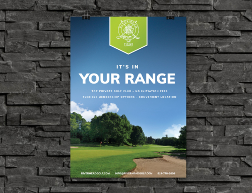 Rivermead Golf – Poster Series 2017